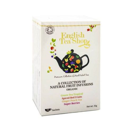Ets collection of natural fruit 20 saszetek marki English tea shop