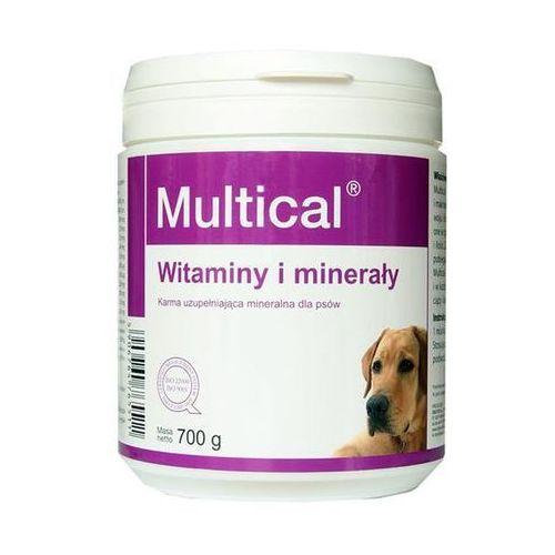 DOLFOS Multical - preparat mineralno - witaminowy dla psów proszek 700g - proszek 700g (5906764765511)