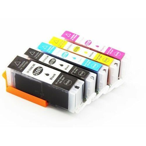Zestaw tuszy CLI-551 XL + PGI550BK XL do Canon MG5550 / 5650 / iP7250 / MX925 / Black Photo, Magenta, Cyan, Black, Yellow, / 15ml, kolor Zestaw