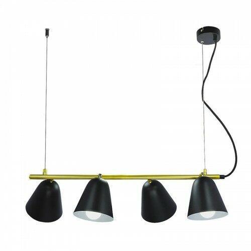 Rabalux Alder czarna 4xe14 lampa wisząca 5377 (5998250353777)
