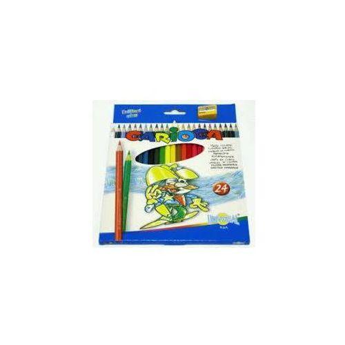Kredki ołówkowe 24 kolory 40381 CARIOCA - X00658, NB-6920