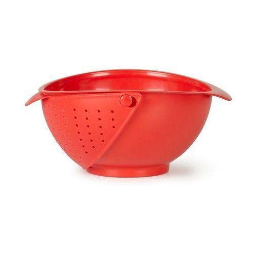 - misa z durszlakiem - czerwona - rinse marki Umbra
