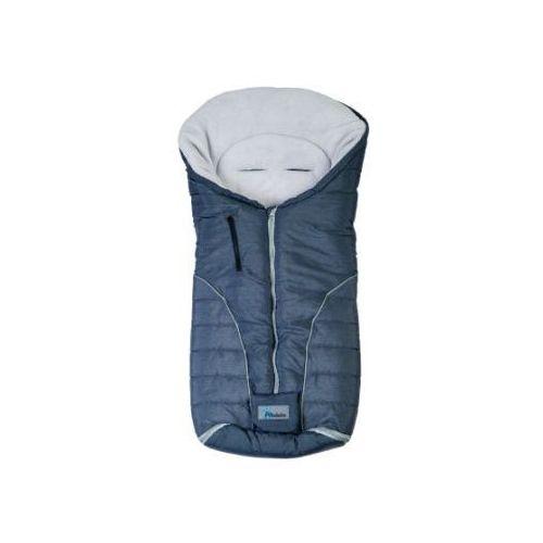 ALTABEBE Śpiworek zimowy Alpin do wózka kolor ciemnoszary/jasnoszary (4897015977559)