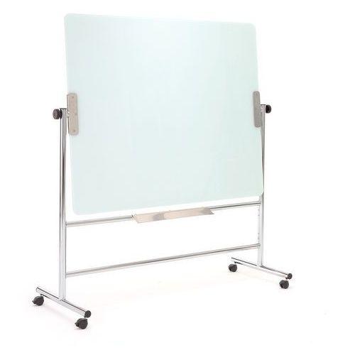 Szklana, obrotowa tablica suchościeralna, 1500x1200 mm marki Aj produkty