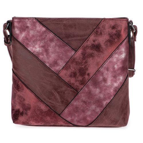 952fe27338352 torebka damska burgund finja marki Tom tailor