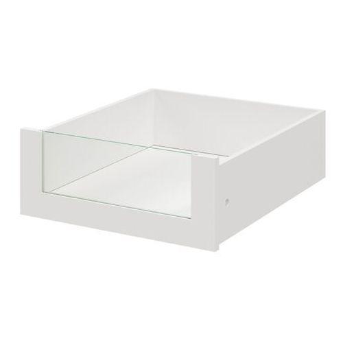 Goodhome Szuflada wewnętrzna do korpusu 58 x 50 cm atomia biała/szkło (5036581054892)