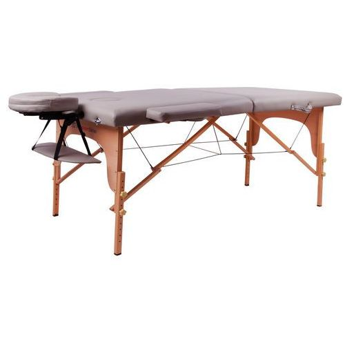 Stół do masażu inSPORTline Taisage wzmacniany model 2018, Szary
