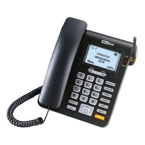 Telefon MAXCOM Comfort M28D - telefon stacjonarny na kartę SIM Czarny