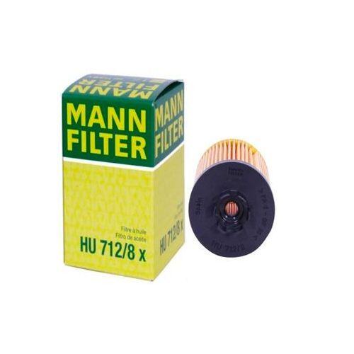 Mann filter Filtr oleju mann hu712/8x (oe648) opel fiat alfa