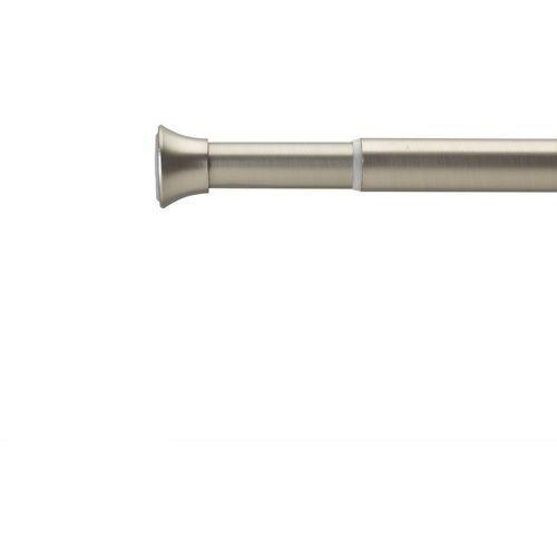 Umbra - karnisz chroma 2,22 cm - 137,1 - 228,6 cm - nikiel - 137,1 - 228,6 cm