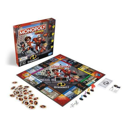 Gra Monopoly Junior Incredibles Hasbro
