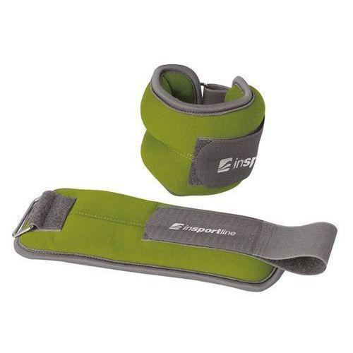 Insportline Neoprenowe obciążniki na kostki i nadgarstki lastry 2 x 1 kg - 2 x 1 kg