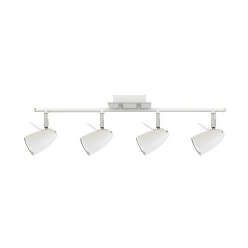 Britop lighting Listwa lampa sufitowa oprawa spot ian 4x4,5w gu10-led biały / chrom 2836402