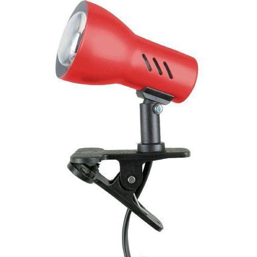 Lampa stołowa lampka klips Spot Light Clamspot 1x40W E14 czerwona 2120106K (5907500155610)