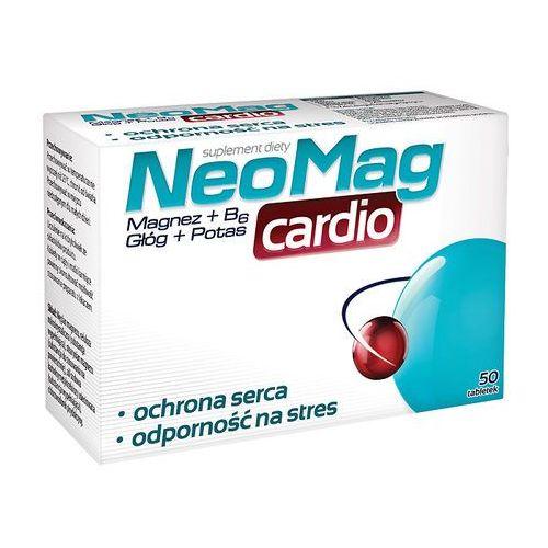 Neomag cardio x 50 tabl - tabletki witaminy i minerały