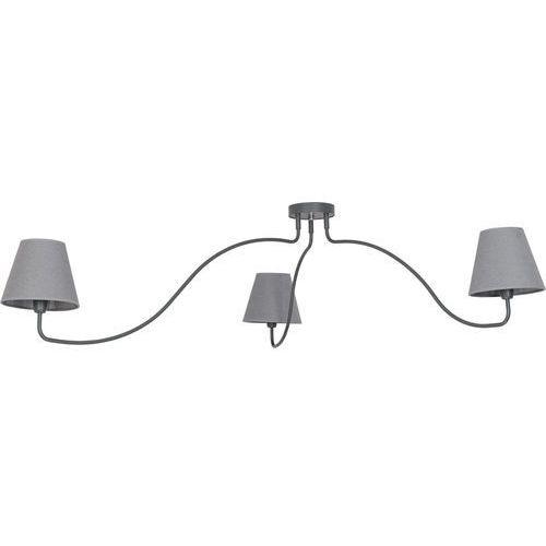 Plafon Nowodvorski Swivel 6552 lampa sufitowa 3x40W E14 grafit