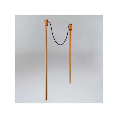 Downlight lampa sufitowa alha y 9002/g9/mi natynkowa oprawa minimalistyczna sople tuby miedź marki Shilo