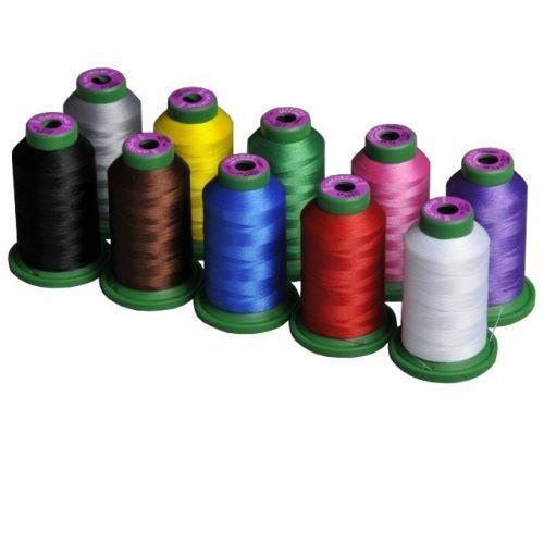 Zestaw 10 nici do haftu maszynowego Amann Isacord kolorowe - 1000m / szt