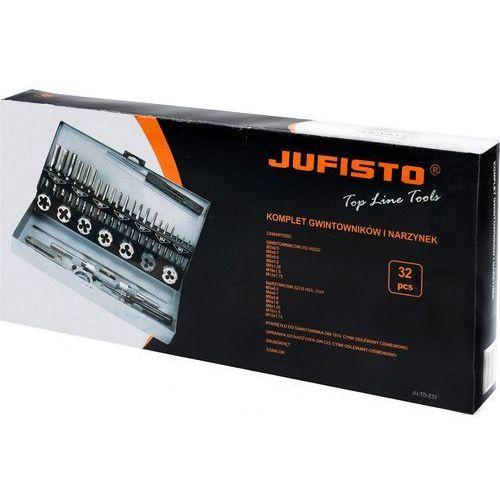 Zestaw gwintowników i narzynek ju-td-z32 m3 - m12 32 szt. marki Jufisto