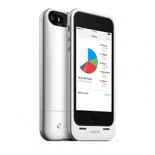 space pack 1700mah + 16gb capacity iphone 5s/se white od producenta Mophie