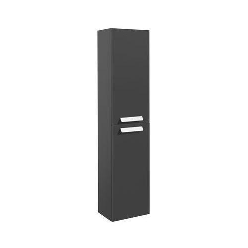 ROCA DEBBA kolumna wysoka obustronna 150 cm z 4 półkami, kolor BIAŁY POŁYSK A856844806 (8433290317299)