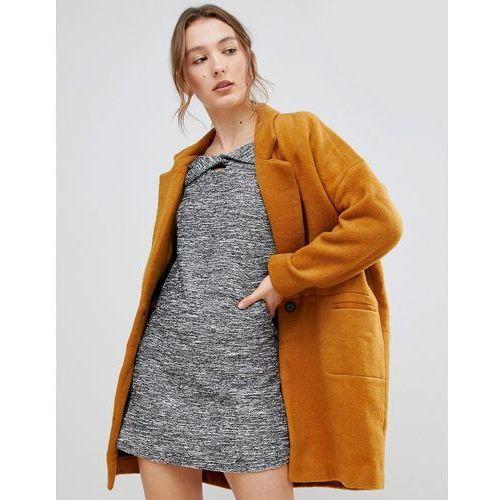 oversized coat - yellow, See u soon