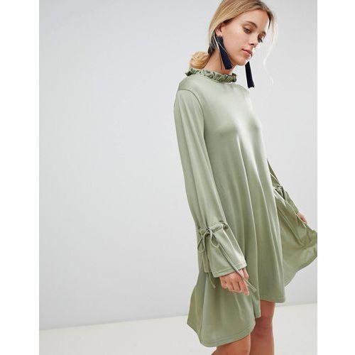 Glamorous smock dress - Green, kolor zielony