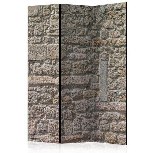 Parawan 3-częściowy - kamienna świątynia [room dividers] marki Artgeist