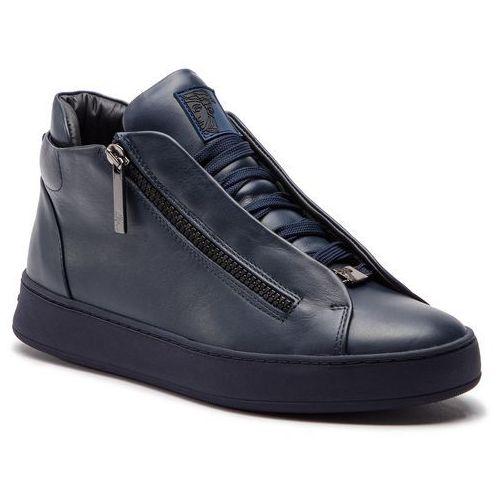 Versace Sneakersy collection - v900726 vm00011 va14c blue navy