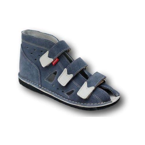 57ac3f97 Buty profilaktyczne dla dzieci · Daniel profilaktyczne kapcie wzór 910 kolor  jeans ...