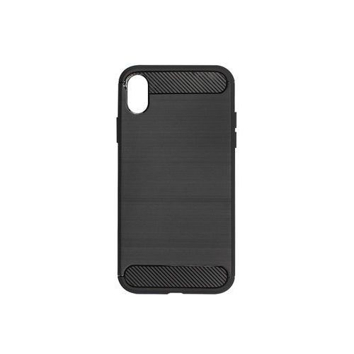 Apple iphone xr - etui na telefon forcell carbon - czarny marki Forcell carbon case