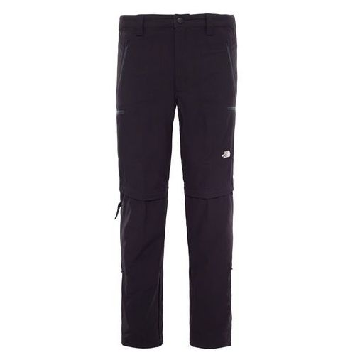 Spodnie EXPLORATION CONVERTIBLE PANT LONG MEN - black
