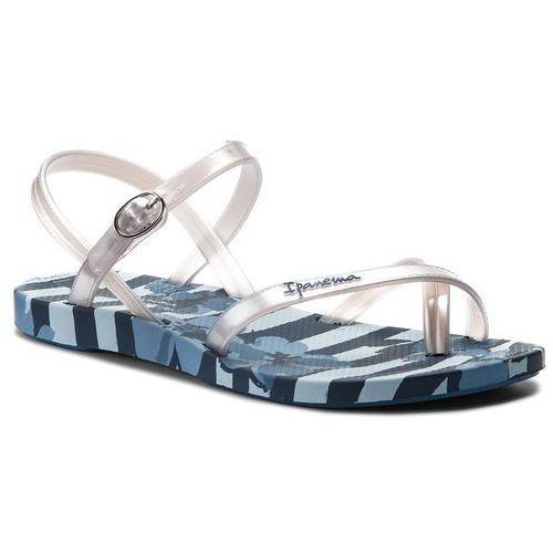 Sandały IPANEMA - Fashion Sand. V Fem 82291 Blue/Silver 21345, kolor szary