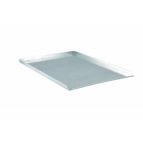 Tom-gast Blacha aluminiowa 3 rantowa - proste krawędzie | 60x40x2cm | grubość 1,5 - 2 mm