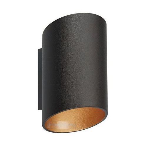 Slice wl black spot 50603-bk/gd (czarny) kinkiet -- wysyłka 48h ---- marki Zuma line