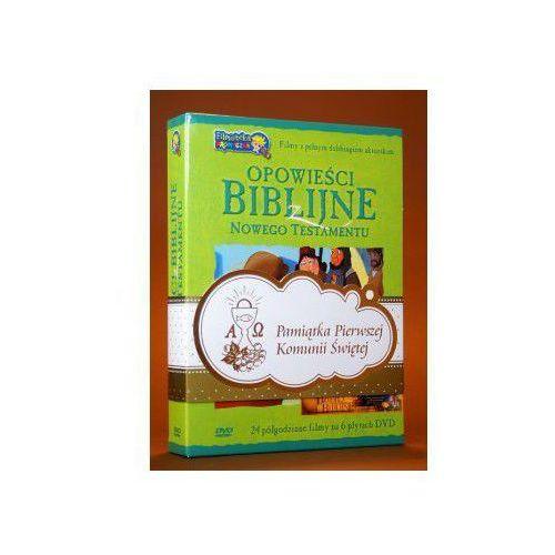 Opowieści Biblijne z Nowego Testamentu (box 6 płyt DVD) zestaw komunijny