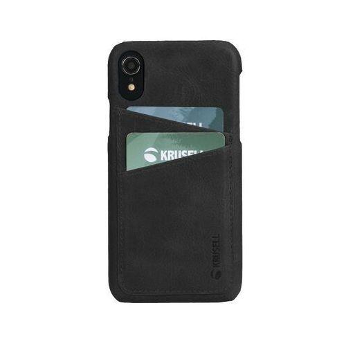 sunne 2 card cover iphone xr (czarny) marki Krusell