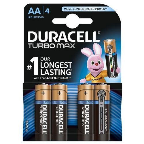 Bateria DURACELL Turbo Max AA/LR06 B3 1 z kategorii Baterie