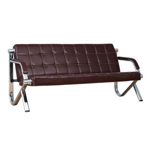 Sofa 3-osobowa STILIO PLUS brązowy