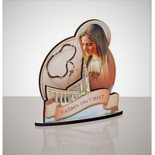 Drewniana figurka Matki Boskiej Fatimskiej - produkt z kategorii- Pozostałe