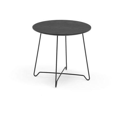 Aj produkty Stół kawowy iris, wys. 460 mm, czarny, czarny