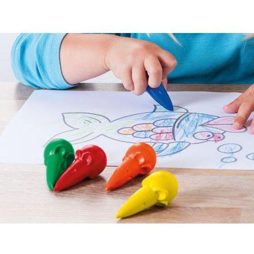 Pelikan büro Kredki świecowe myszki 6 kolorów (4012700804075)