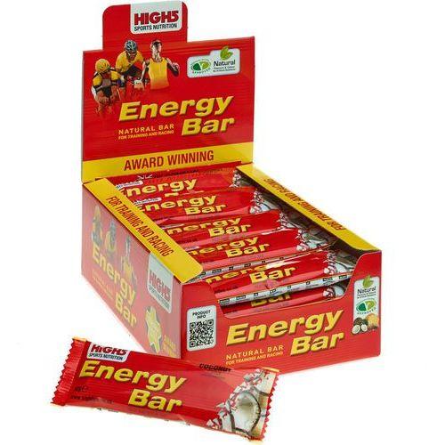 High5 EnergyBar Żywność dla sportowców Coconut 25 x 60g 2018 Zestawy i multipaki
