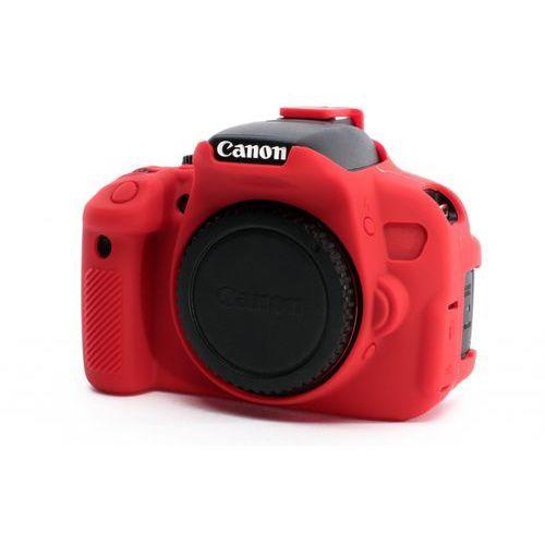 EasyCover osłona gumowa dla Canon 650D/700D/T4i/T5i czerwona