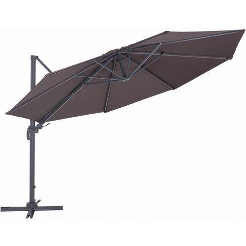 Makers parasol ogrodowy roma, boczny 2,7 m, brązowy