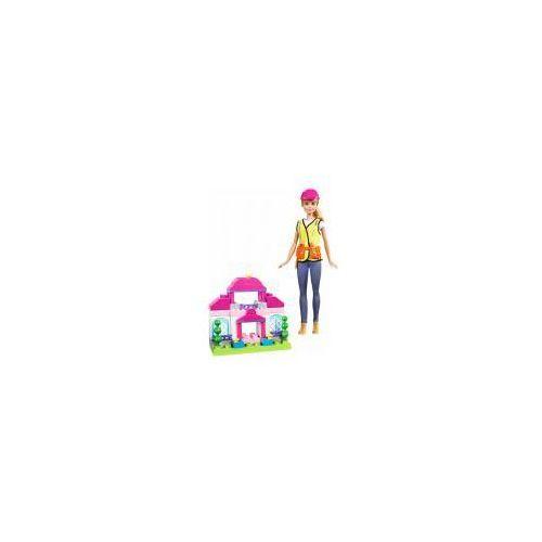 Barbie. Lalka Budowniczy + zestaw 50 klocków