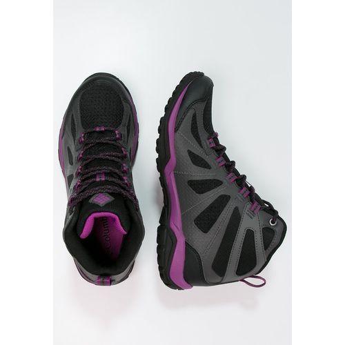 Columbia PEAKFREAK XCRSN II XCEL OUTDRY Buty trekkingowe black/intense violet (0888667756825)