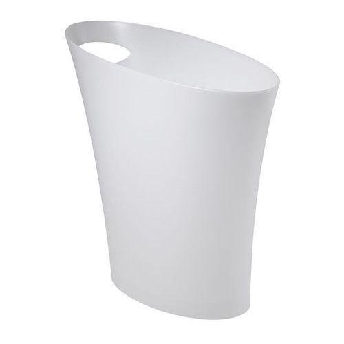 Kosz na śmieci skinny - biały marki Umbra