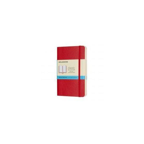 Moleskine Notatnik classic p kropki, miękka oprawa, czerwony (8055002854627)