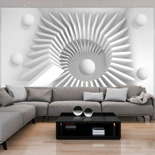 Fototapeta - biała układanka marki Artgeist